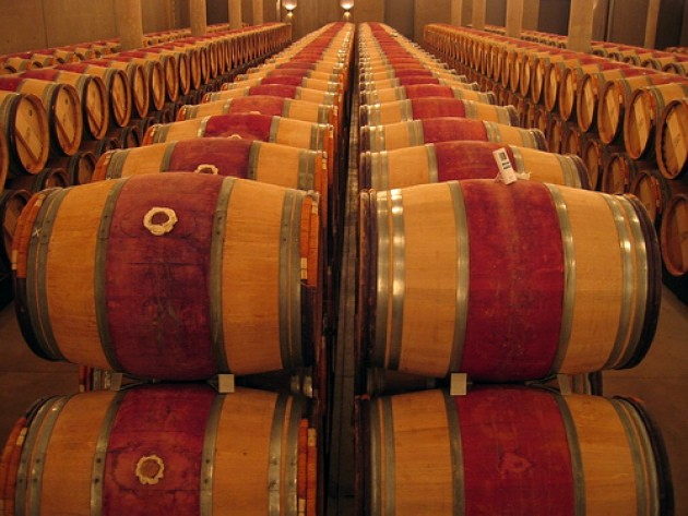 Bordeaux barrels