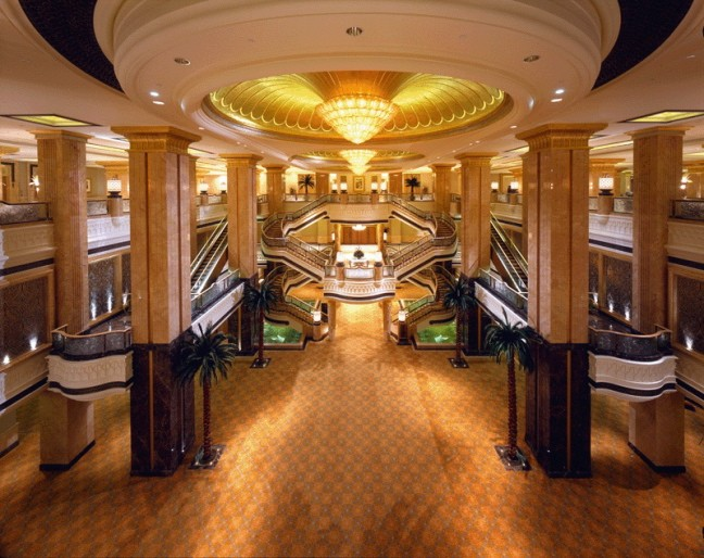 Ballroom foyer