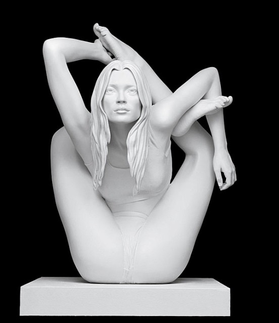 Sphinx (Kate Moss)