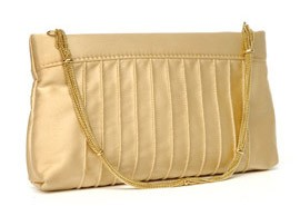Viv Clutch with Chain Strap