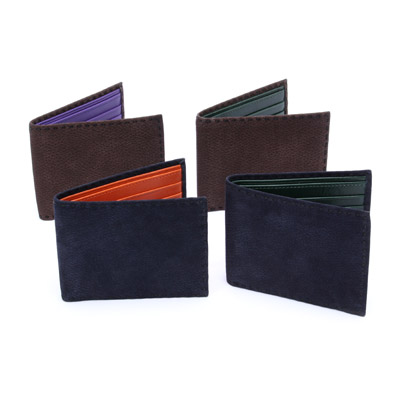 Nubuck Bifold