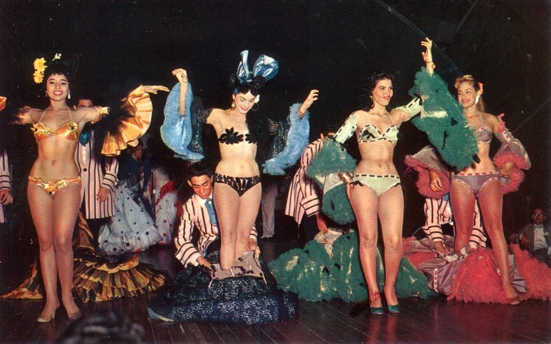 Showgirls at the Tropicana