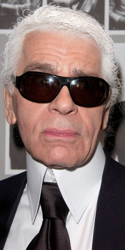 Karl Lagerfeld in Dubai