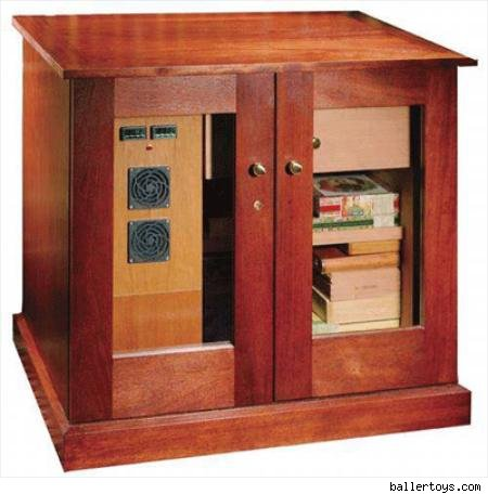 Climatech 1001 Climate Controlled Cabinet Humidor, $4,695.00