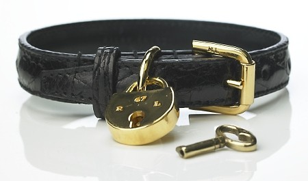 Ralph Lauren Alligator Dog Collar
