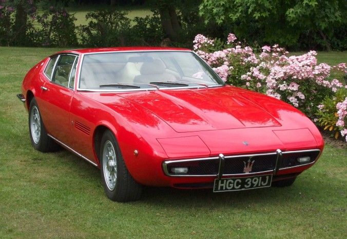1970 Maserati Ghibli 4.7-Litre Coup 