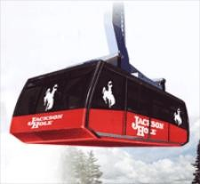 The new Jackson Hole tram!