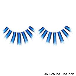 Premium Blunt Blue False Eyelashes  