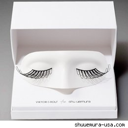 Viktor & Rolf False Eyelashes Wing Couture