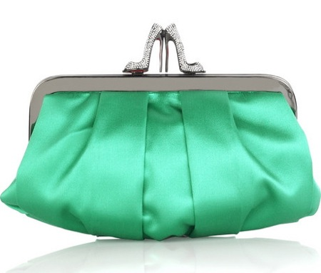 Loubinight Satin Clutch, Handbag of the Day - Luxist :  loubinight handbag luxist day