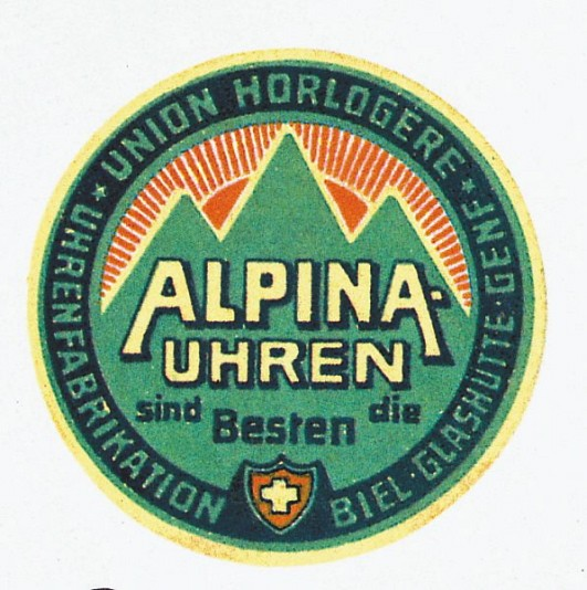 Early Alpina logo