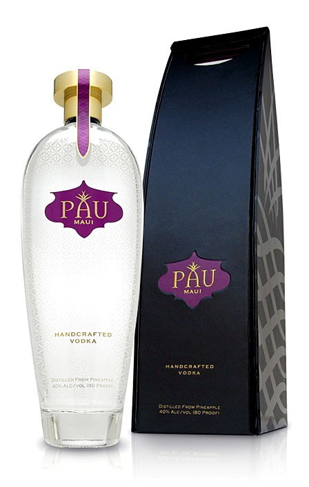 New Hawaiian Vodka Pau Maui Has Pineapple As A Base - Luxist :  alcohol pinapple pau maui vodka