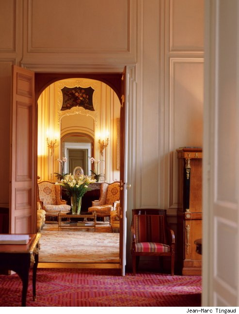Drawing rooms of the hôtel du Marc, Reims