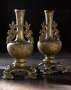 Pair of Decorative Vases, c. 1900, France