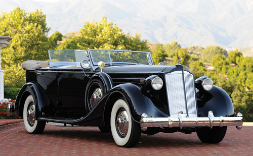 1936 Packard Twelve Dual Cowl Sport Phaeton