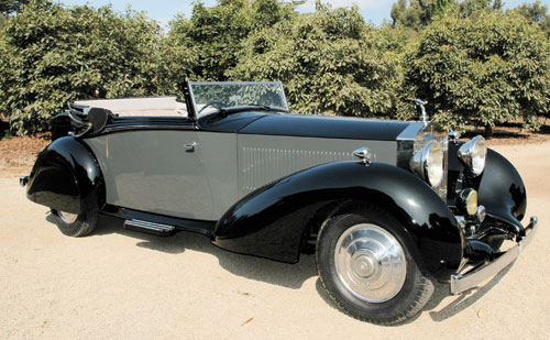 1934 Rolls-Royce Phantom II Continental Sedanca Drophead Coupe