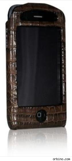 Strada Tre Case in Brown Crocodile, $319