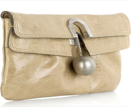 Patent Leather Clutch. I like this Patent Leather