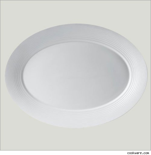 White Bone China Turkey Platter by Gordon Ramsey
