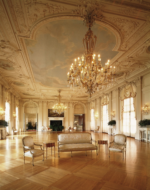 Rosecliff drawing room.