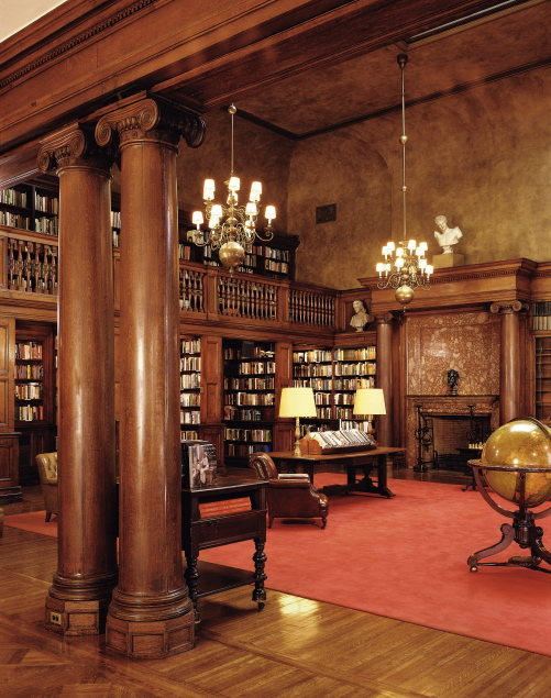 Century Association library.