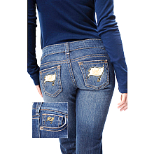 Touch By Alyssa Milano Tampa Bay Buccaneers Women's Denim Jeans