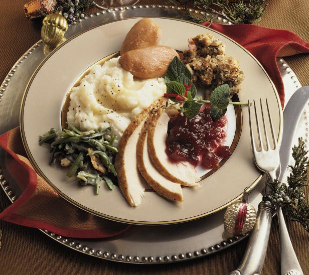 Lunds & Byerly's Turkey Dinner