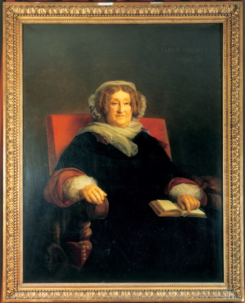 Portrait of Barbe-Nicole
