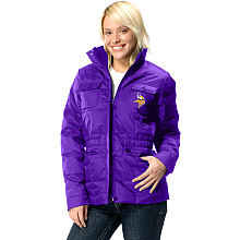 Touch By Alyssa Milano Minnesota Vikings Women's Short Zip Jacket