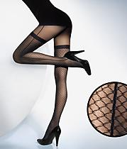 Alcazar Stay-up Illusion Fishnet Tights