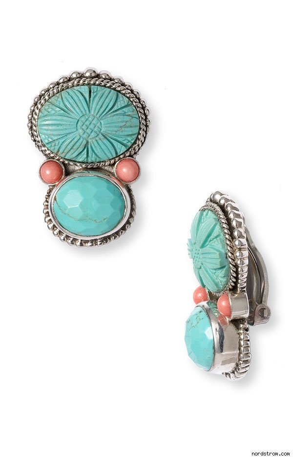 Large Clip Earrings