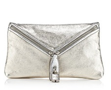Micol Metallic Envelope Clutch