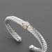 Pave Center Bracel