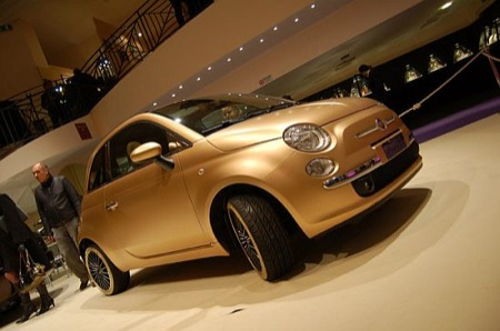 Blinged-Out Fiat 