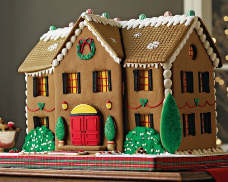 Williams-Sonoma Gingerbread Manor