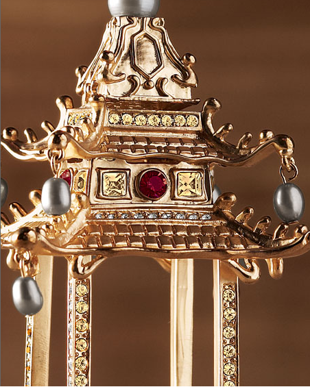 Zoom-In Version of L'Objet Pagoda Ornament