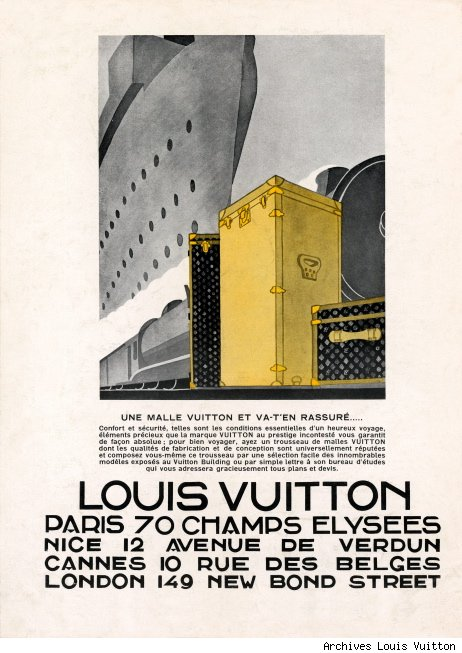 LV Advertisement from 1928