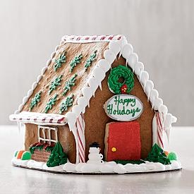 Red Envelope Personalized Gingerbread House