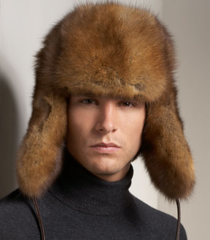 Sable Fur Hat from Bergdorf Goodman