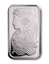 1 Troy Ounce Platinum Bullion Bar