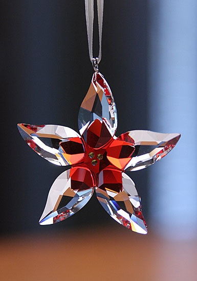Swarovski Poinsettia Ornament