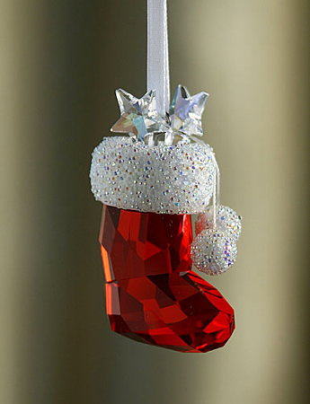Swarovski Crystal Stocking Ornament