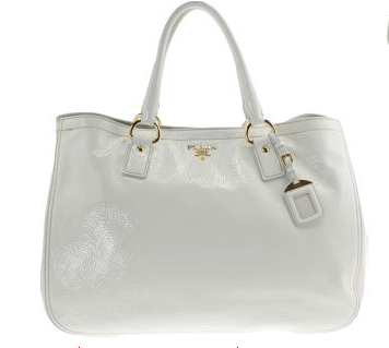 white handbag