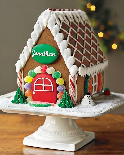 Williams-Sonoma Personalized Gingerbread House