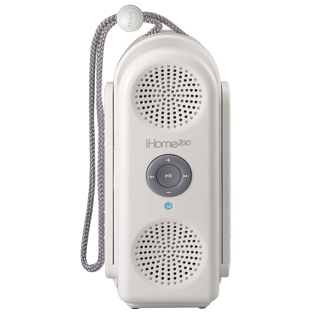 Shower to Shore Water-Resistant Speaker for iPod