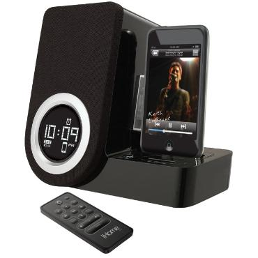 Rotating Alarm Clock for iPod touch & iPod nano