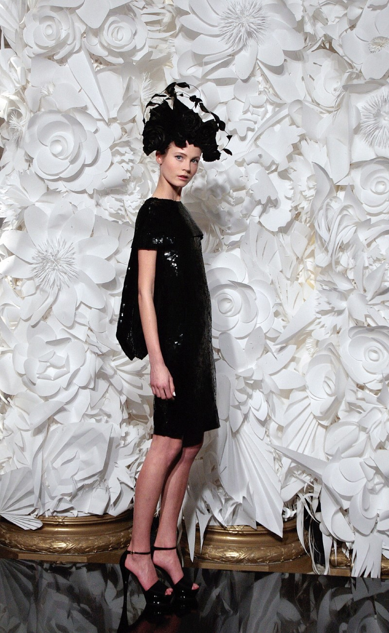 Luxist :  black dress formal luxist chanel