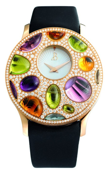 Bertolucci Stria Luce Watch With Fossil Shaped Jewels - Luxist