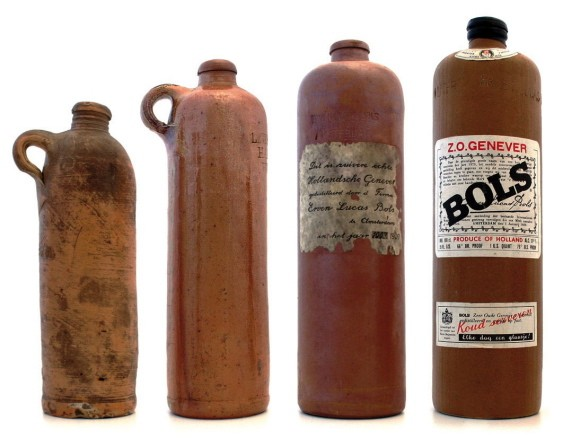 Evolution of Bols bottles