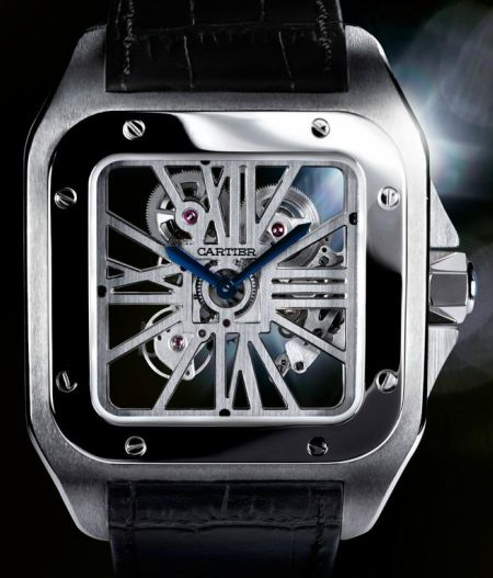The Cartier Men's Santos 100